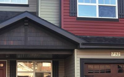 New Home Exterior Construction